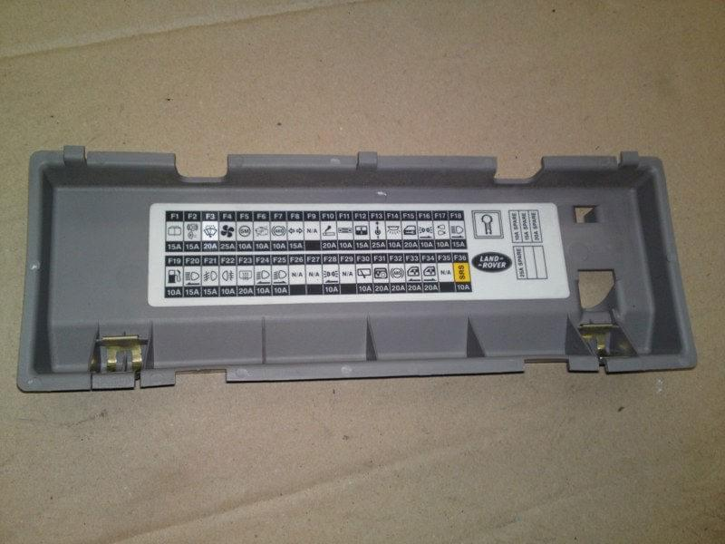 9b0c6b556f9bbc25 land rover freelander fuse box cover ebay freelander 1 fuse box layout at honlapkeszites.co