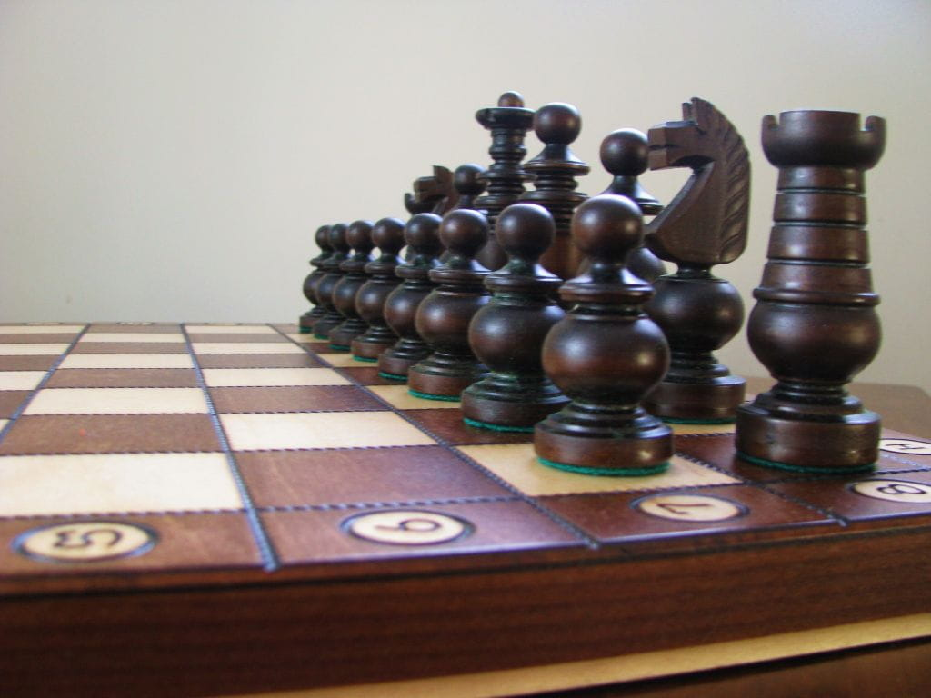 Brand new large hand crafted ambassador wooden chess set for Hand crafted chess set